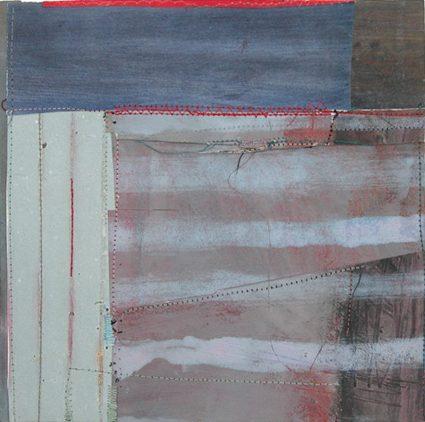 "Sewn Collage 4, 8.5"" x 8.5"", 2005"